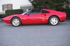Ferrari 308 GTSi Red 69000 Miles 1982 Driver Side View