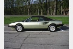 Ferrari Mondial Cab Green 24000 Miles 1983 Drivers Side View