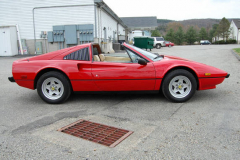 Ferrari 308 GTS QV Red 1984 Passenger Side View