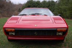 Ferrari 308 GTS QV Red 1984 Front View