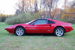 Ferrari 308 GTS QV Red 1984 Driver Side View
