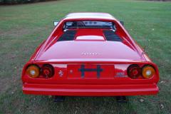 Ferrari 308 GTS QV Red 1984 Rear View