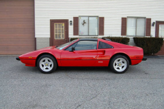 Ferrari 308 GTS Red 1984 Driver Side View