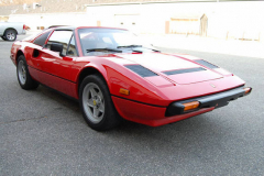 Ferrari 308 GTS Red 1984