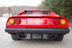 Ferrari 308 GTS Red 1984 Rear View