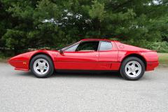 Ferrari 512BBi 8700 Kilometers 1984 Driver Side View