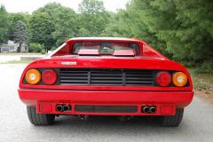 Ferrari 512BBi 8700 Kilometers 1984 Rear View