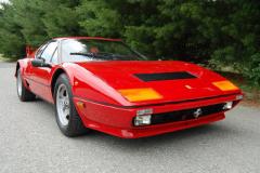 Ferrari 512BBi 8700 Kilometers 1984 Front View