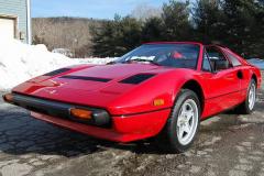 Ferrari 308 GTS QV Red 1985