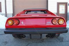 Ferrari 308 GTS QV Red 1985 Rear View