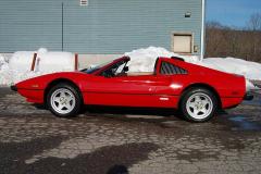Ferrari 308 GTS QV Red 1985 Driver Side View