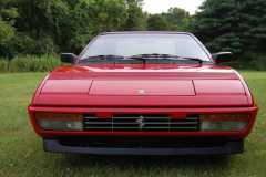 Ferrari Mondial Cab Convertible Red 1986 Front View