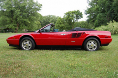 Ferrari Mondial Cab Convertible Red 1986 Driver Side View