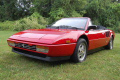 Ferrari Mondial Cab Convertible Red 1986