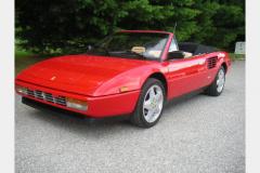 Ferrari Mondial Cab Red 52000 Miles 1986