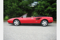 Ferrari Mondial Cab Red 52000 Miles 1986 Driver Side View