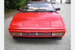 Ferrari Mondial Cab Red 52000 Miles 1986 Front View