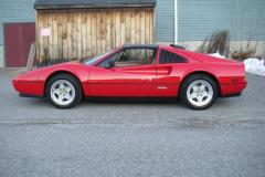 Ferrari 328 GTS Red 1988 Driver Side View