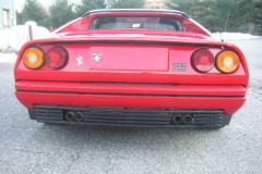 Ferrari 328 GTS Red 1988 Rear View