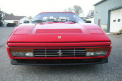 Ferrari 328 GTS Red 1988 Front View