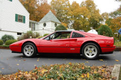 Ferrari 328 GTS Red 1988 Driver Side View