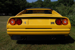 Ferrari 328 GTS Yellow 1989 Rear View