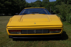 Ferrari 328 GTS Yellow 1989 Front View