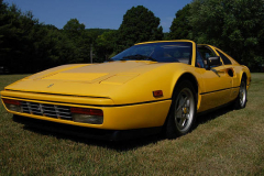 Ferrari 328 GTS Yellow 1989