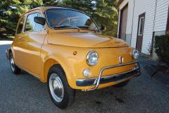 Fiat 500L Yellow 1969