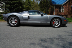 Ford GT Limited Edition Tungsten Grey 2006 Passenger Side View