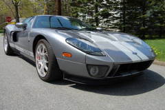 Ford GT Limited Edition Tungsten Grey 2006 Front View