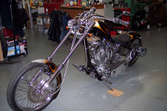 Harley Davidson Donaldson Fabrication Custom Chopper
