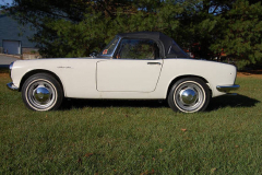 Honda 600 Roadster White 1965 Driver Side View