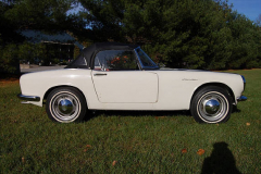 Honda 600 Roadster White 1965 Passenger Side View