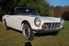 Honda 600 Roadster White 1965