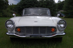 Honda S 600 Roadster White 1965 Front View