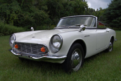 Honda S 600 Roadster White 1965