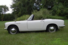 Honda S 600 Roadster White 1965 Driver Side View
