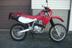Honda XR650L Red 2006