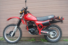 Honda XL500 Red 1982