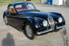 Jaguar XK 120 Coupe Black 1950