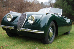Jaguar XK120 Roadster Green 1950