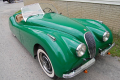 Jaguar XK 120 Roadster Green 1951