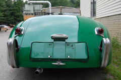 Jaguar XK 120 Roadster Green 1951 Rear View