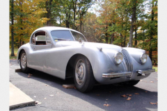 Jaguar XK120 White Project Car 1952