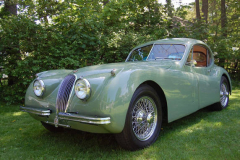 Jaguar XK120 Coupe Green 1953