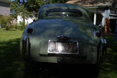 Jaguar XK120 Coupe Green 1953 Rear View