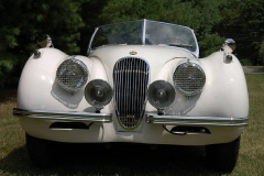 Jaguar XK 120 Roadster White 1954 Front View