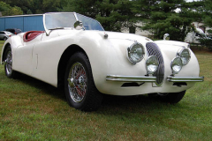 Jaguar XK 120 Roadster White 1954