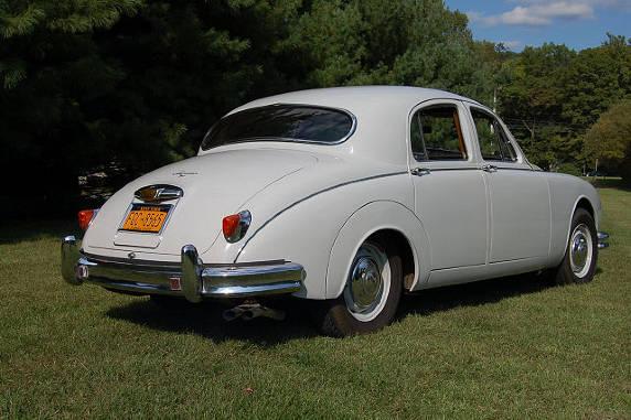 Jaguar 1958 Mark 1 Saloon Pearl Grey 56000 Kilometers - Forza